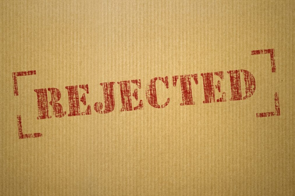 How to deal with interview rejection